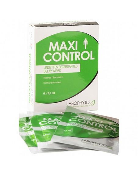 6 lingettes retardantes MaxiControl