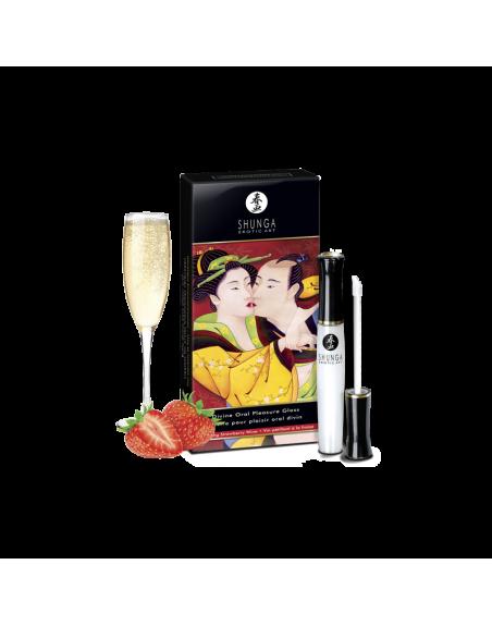 Gloss Plaisir Oral divin - Vin pétillant et fraise
