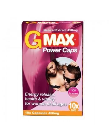 Gmax Perla Rosa 10 gélules pour femme
