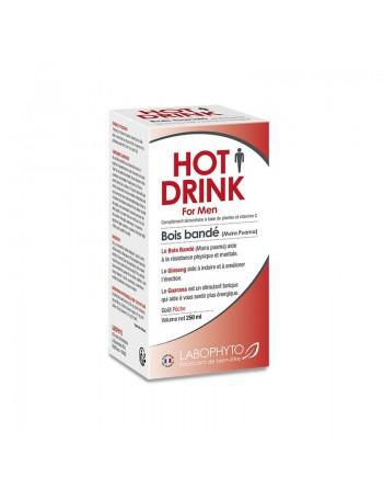 Hotdrink pour homme bois bandé 250ml