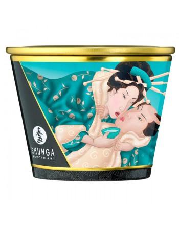 Bougie de massage lueur et caresses - Sensual - Fleurs des iles