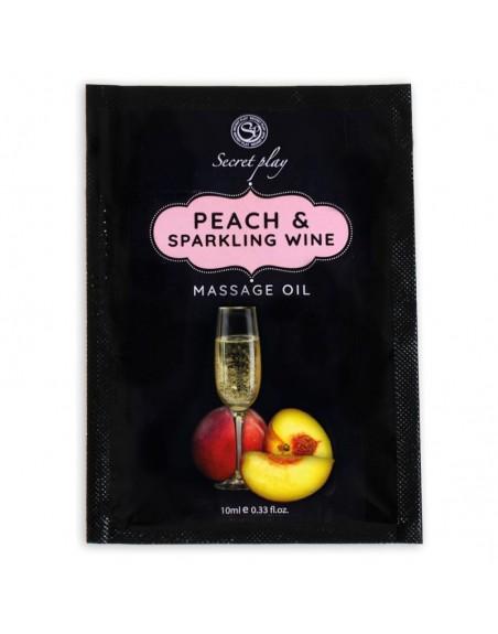 Monodose Huile de massage Pêche et Vin pétillant 3680 - 10 ml