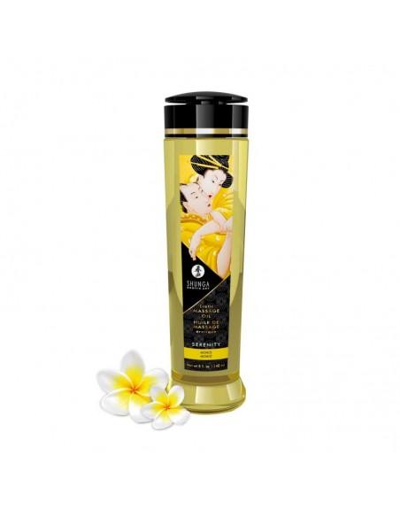 Huile de massage érotique - Serenity - Monoï - 240 ml