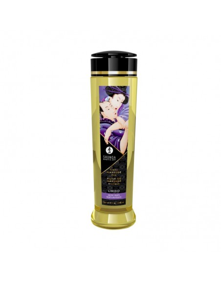 Huile de massage érotique - Libido - Fruits exotiques - 240 ml