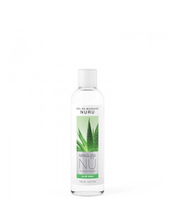 Mixgliss Gel de massage - NU Aloe Vera - 150 ml