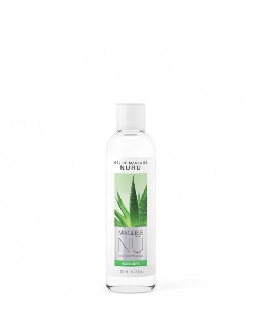 Mixgliss Gel de massage - NU Aloe Vera - 150 ml