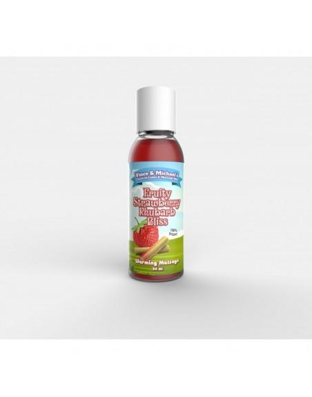Huile chauffante VM Fraise Rhubarbe - 50 ml