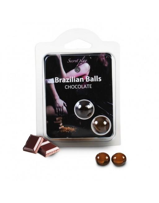 Duo Brazilian Balls Chocolat