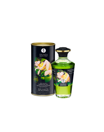 Huile aphrodisiaque organique  - Thé vert exotique