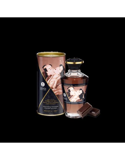 Huile chauffante aphrodisiaque - Chocolat enivrant 100ml