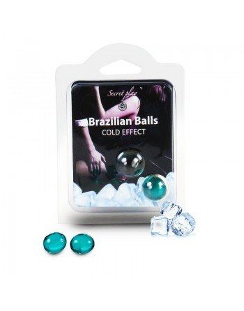 Duo Brazilian Balls Cold effect 3613