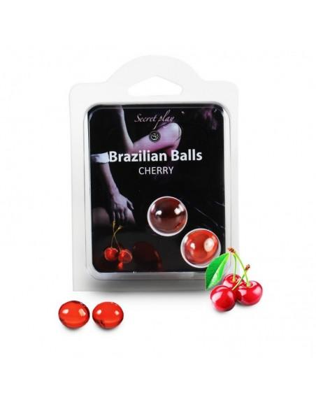 Duo Brazilian Balls Cerise 3385-6
