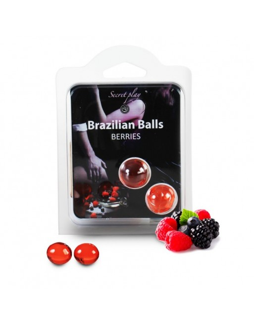 Duo Brazilian Balls Fruit des bois 3385-5