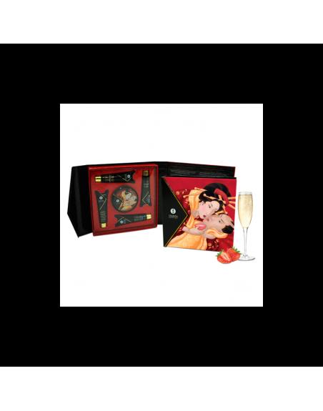 Kit Secret de Geisha - ORGANICA - Vin pétillant à la fraise