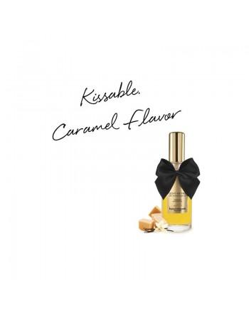Huile de massage embrassable Chauffante - Caramel Doux
