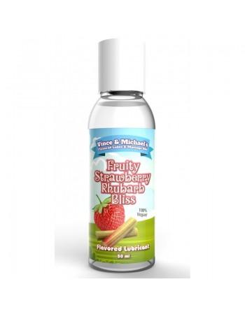 Lubrifiant VM Saveur Fraise Rhubarbe - 50 ml