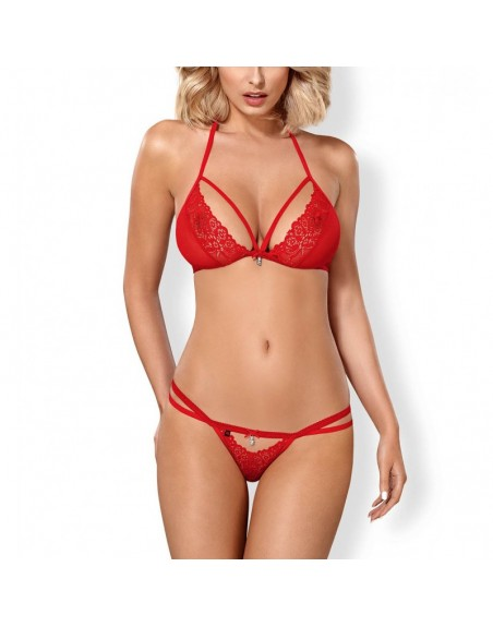 838-SET-3 Ensemble 2 pcs - Rouge