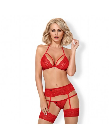 838-SEG-3 Ensemble 3 pcs - Rouge
