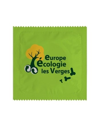 1 X préservatif EELV Europe...