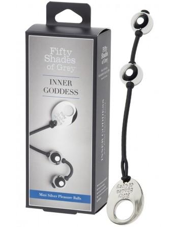 Boules en Metal Mini Silver FSOG- l'avenue des plaisirs