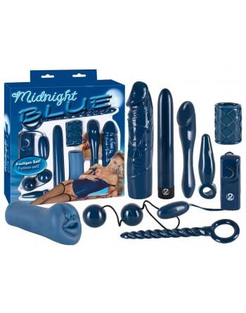 Coffret complet bleu you 2 toys- l'avenue des plaisirs