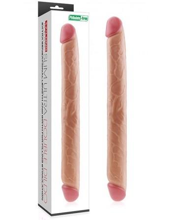 Double gode réaliste - 44 cm lovetoy- l'avenue des plaisirs