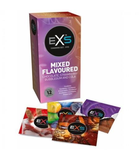 Préservatifs aromatisés Mixed Flavours www.lavenuedesplaisirs.com