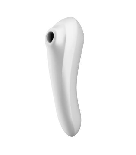 Satisfyer Dual Pleasure connected stimulator - White