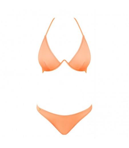 Bikini couleur corail  Paralia