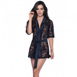 Peignoir Style 7115 - Noir