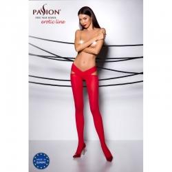 TI005R Collants 60 DEN - Rouge