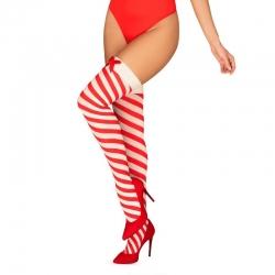 Xmas Kissmas Stockings - Red