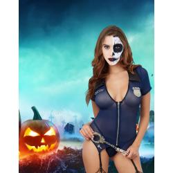 Costume sexy de policière...