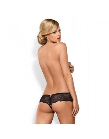 merossa tanga ouvert obsessive lingerie sexy bande de dentelle élastique
