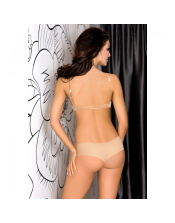 Basic axami : soutiengorge beige coussinets amovibles v-5790 discret et glamour- l'avenue des plaisirs
