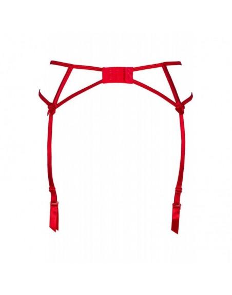 V-8862 Porte jarretelles - Rouge