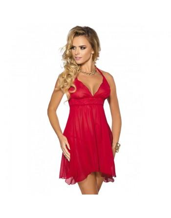 Essie nuisette sexy rouge amoureux volante anais
