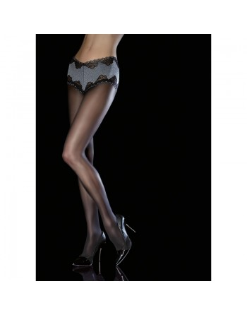 fiore collants noirs transparents amitis collant 40 den noir culotte- l'avenue des plaisirs