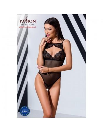 Un sexy body veronique noir de la marque passion- l'avenue des plaisirs
