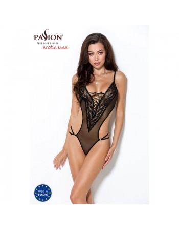 sublime body erza noir tulle transparent laçage passion- l'avenue des plaisirs