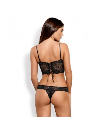 lingerie sexy : body dentelle alluria effet amincissant obsessive