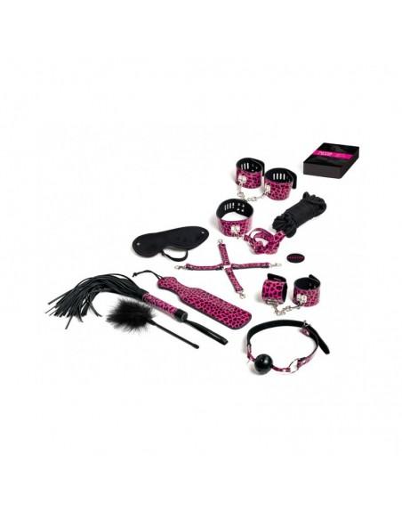 Master and Slave Pink Premium - KIT BDSM