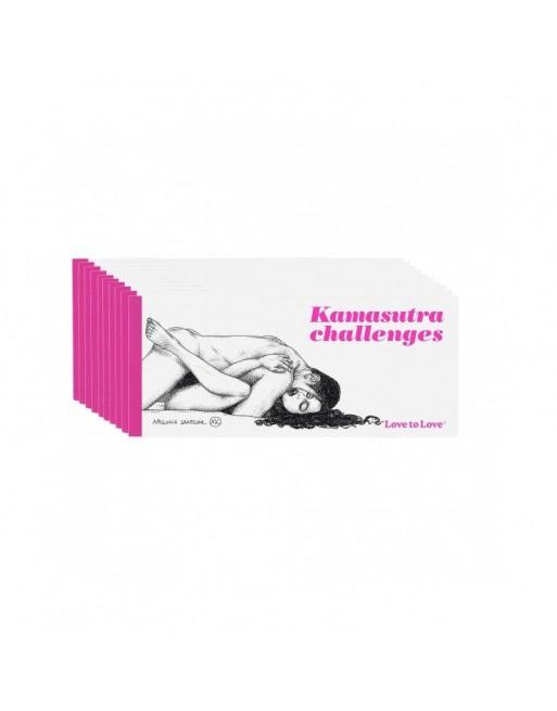 Chequier Kamasutra challenges par Apollonia Saintclair