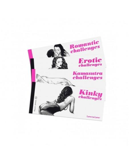 Chequier Romantic challenges par Apollonia Saintclair