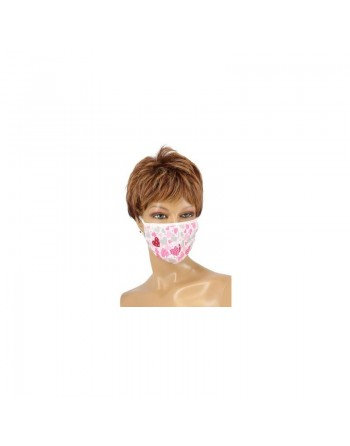 Masque en coton Passion - Divers coloris