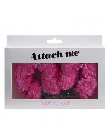 Menottes Attach me - Rose