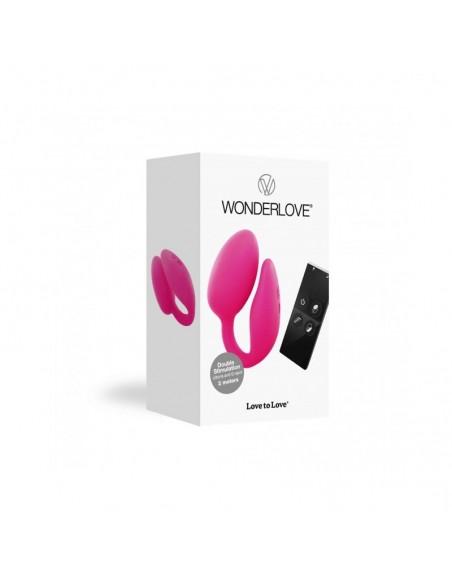 Wonderlove - Jouet pour couple télécommandé