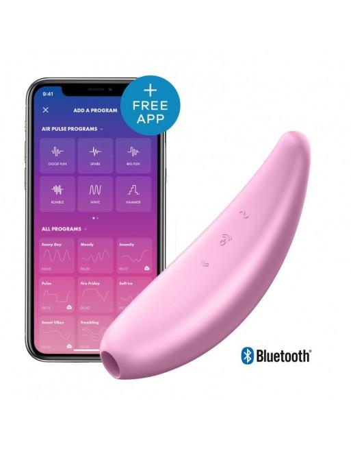 Stimulateur connecté Satisfyer Curvy 3 - Rose