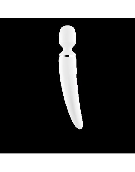 stimulateur vibromasseur Satisfyer Woman Wand - Blanc