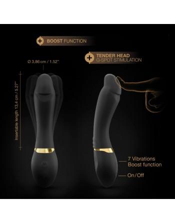 Vibromasseur Dorcel Tender Spot - Noir et Or